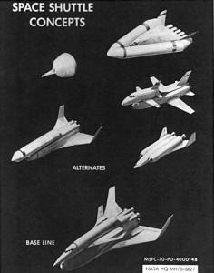 Koncepty raketoplánu
