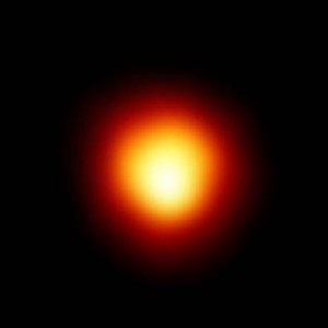 Betelgeuze, jedna z najväčších známych hviezd