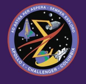 Pamätný emblém zjednocujúci prvky emblémov všetkých kozmických misií, ktoré skončili tragédiou