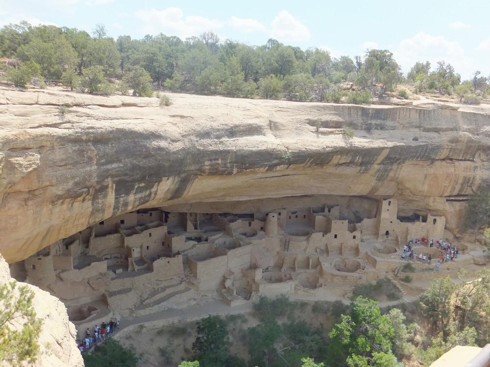 Indiánske skalné mestečko