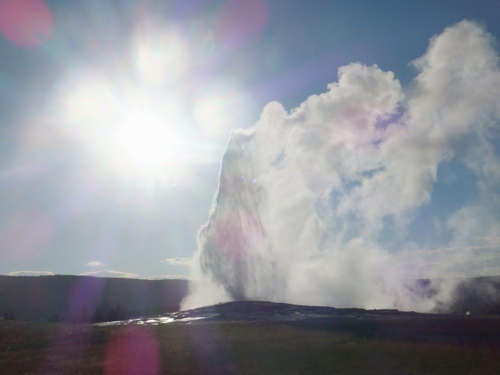 Najznámejší Yellowstonský gejzír