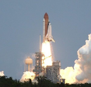 Štart raketoplánu Atlantis STS-125