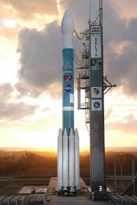 Nosná raketa Delta II (na zábere pred štartom so sondou Deep Impact je viacstupňová nosná raketa. Vyhorené stupne sa odhadzujú, čím hmotnosť komplexu počas celého štartu klesá.