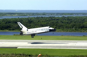 Pristávanie raketoplánu