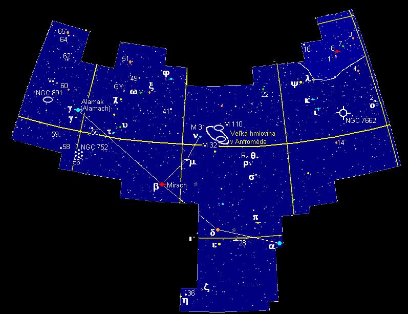 Andromeda cierna