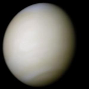 Druhá planéta Slnečnej sústavy - Venuša - v reálnych farbách. Román vzdáva hold tejto v porovnaní s Marsom veľmi opomínanej planéte. Autor: NASA/Ricardo Nunes