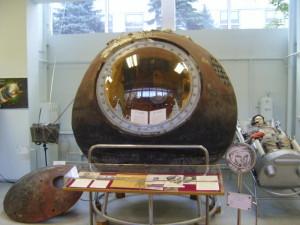 Návratová kabína Vostoku 1, prvej kozmickej lode sveta