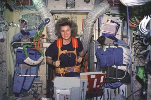 Americká astronautka Shannon Lucidová, ktorá bola jednou zo siedmich amerických astronautov na Mire. Zdroj