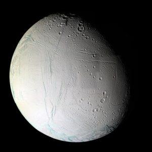 mesiac Enceladus