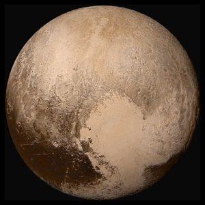 Pluto (snímka zo sondy New Horizons)
