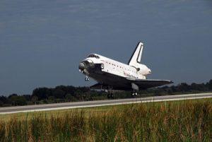 Pristátie raketoplánu Atlantis STS-122